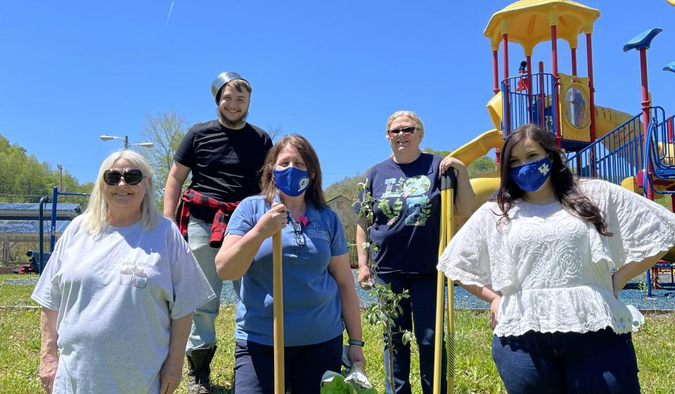Johnny Appleseed -  April Pride Cleanup Month
